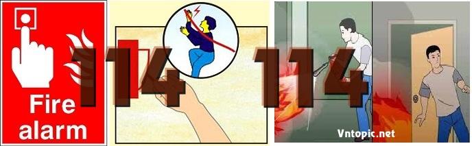 PCCC Đà Nẵng - Nên làm gì khi có cháy nổ xảy ra