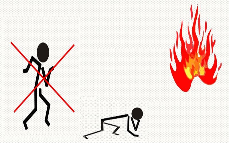 PCCC Đà Nẵng - Kỹ năng tránh khí độc khi hỏa hoạn