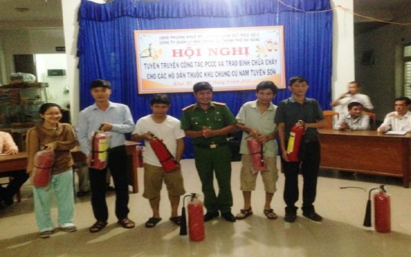 Công tác PCCC Da Nang tại khu dân cư phường Khuê Mỹ