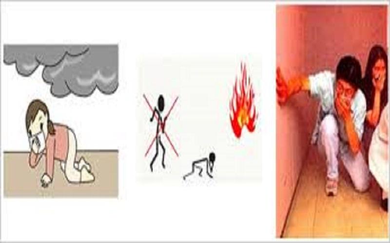 PCCC Da Nang: Cách thoát hiểm trong đám cháy nhiều khói?