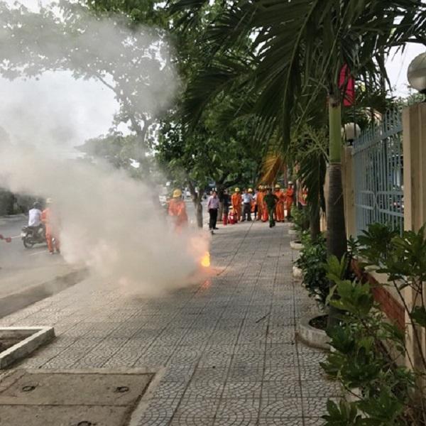 Hướng dẫn cách PCCC Da Nang cho đội điện lực Thanh Khê