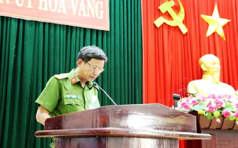 Tăng cường công tác PCCC Đà Nẵng trên địa bàn Hòa Vang