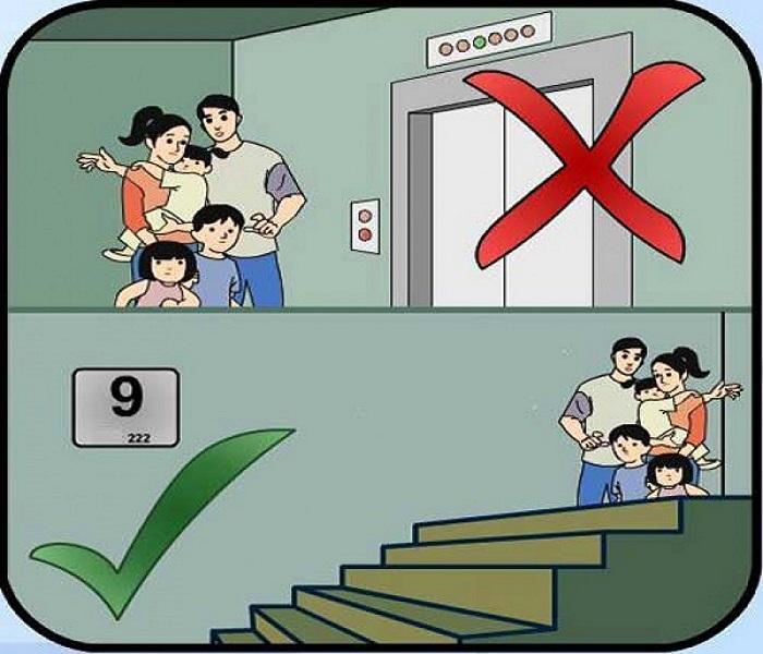 PCCC Đà Nẵng: Hướng dẫn cách phòng vệ bản thân khi có cháy