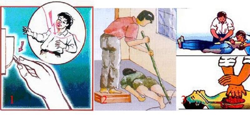 Hướng dẫn cách sơ cứu khi bị điện giật