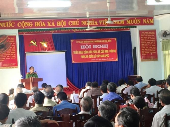 Tuyên truyền về PCCC trên địa bàn phường An Hải Bắc, quận Sơn Trà