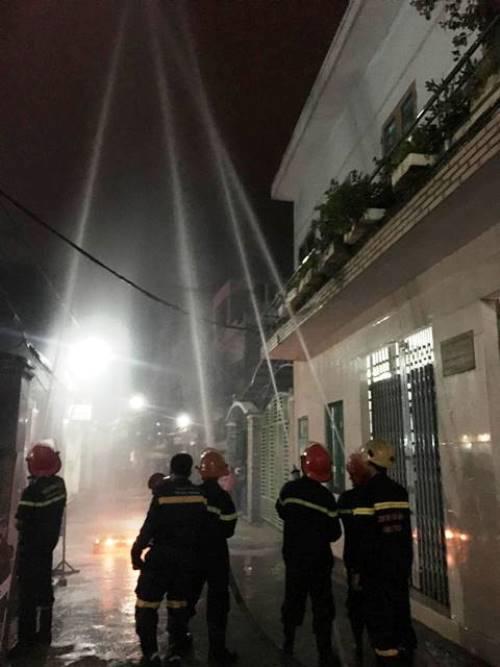 Thực tập phương án chữa cháy tại khu dân cư phường Phước Ninh, quận Hải Châu