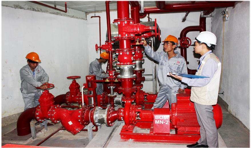 Lắp đặt PCCC tại Đà Nẵng theo đúng quy trình