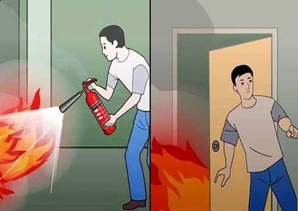 Công ty PCCC Đà Nẵng chia sẽ cách thoát hiểm khi cháy ở chung cư