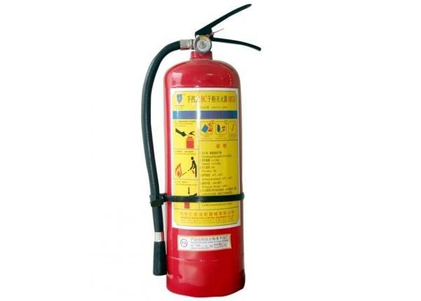 Cách sử dụng bình chữa cháy dạng bột