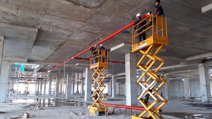Lắp đặt hệ thống PCCC tại Đà Nẵng cho khu làm việc