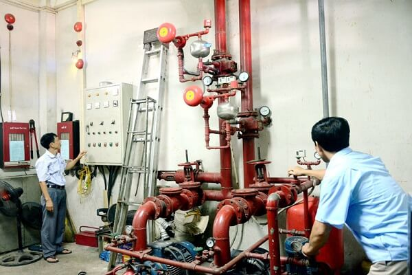 Bảo trì PCCC Đà Nẵng cho các thiết bị của hệ thống pccc
