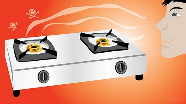 Chú ý cẩn thận khi dùng bếp gas đun nấu